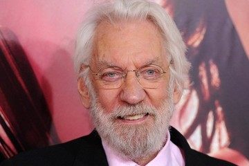 Donald Sutherland 'The Hunger Games: Catching Fire' Premieres in LA