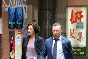 Donnie Wahlberg and Marisa Ramirez are seen.