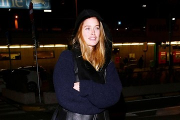 Doutzen Kroes Doutzen Kroes Arrives in Milan