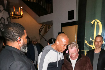 Dr. Dre Dr. Dre Dines At Catch Restaurant