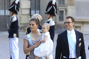 Duke of Vastergotland Arrivals at the Swedish Royal wedding