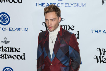 Ed Westwick Celebrities Attend Art of Elysium's 9th Annual Heaven Gala