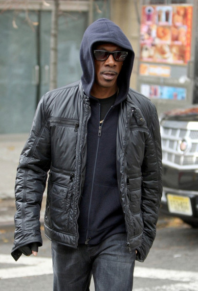 "Eddie Murphy Ben Stiller and Eddie Murphy film ""Tower Heist"" in Queens."