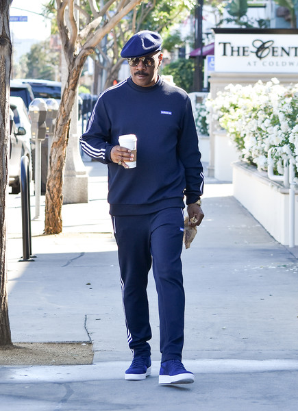 Eddie Murphy out and about..