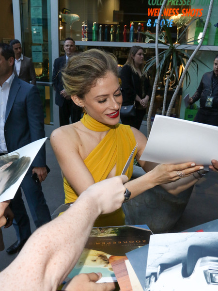 Premiere of Focus Features' 'The Zookeeper's Wife'