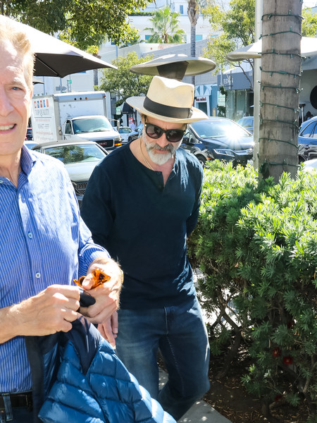 Elias Koteas Steps Out In Beverly Hills
