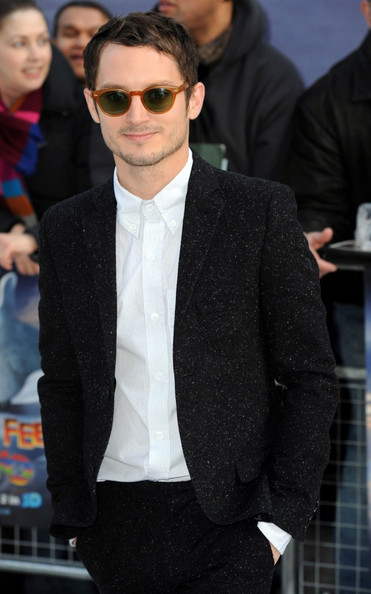 Elijah Wood 'Happy Feet 2' premiere held at he Empire Leicester Square.