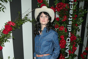 Nikki Lane is seen arriving at the LAND of distraction Launch Party at Chateau Marmont in Los Angeles, California.