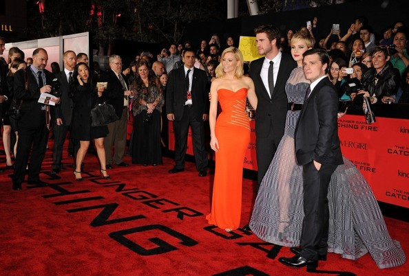 'The Hunger Games: Catching Fire' Premieres in LA