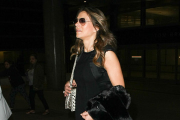 Elizabeth Hurley Elizabeth Hurley Is Seen at LAX
