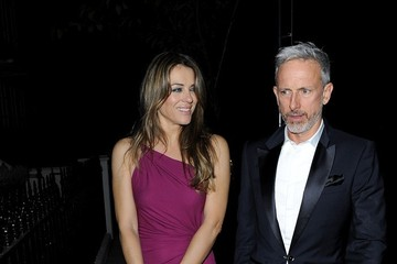 Elizabeth Hurley Patrick Cox Elizabeth Hurley and Patrick Cox Out Late in London — Part 2