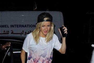 Ellie Goulding Ellie Goulding Enjoys a Late Night Out