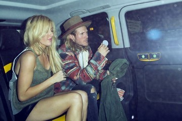 Ellie Goulding Ellie Goulding and Her Boyfriend Out Late