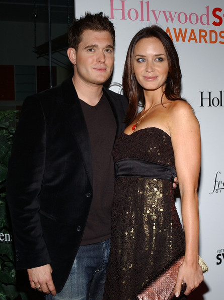 Michael Buble Emily Blunt 3rd Annual Hollywood Style
