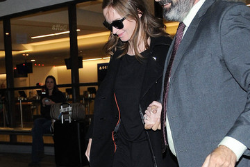 Emily Blunt Emily Blunt Is Seen at LAX
