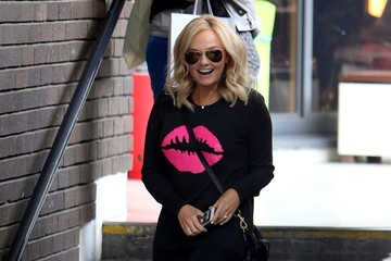 Emma Bunton Emma Bunton at the London Studios
