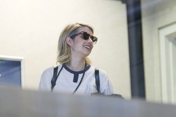 Emma Roberts Emma Roberts Jets Out of Town