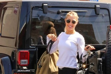 Emma Slater Stars at DWTS Practice
