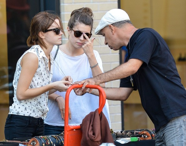 Emma Watson - Emma Watson Shops in the Meatpacking District