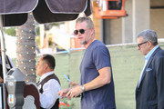 Eric Dane is seen in Los Angeles, California on Oct. 11, 2017.