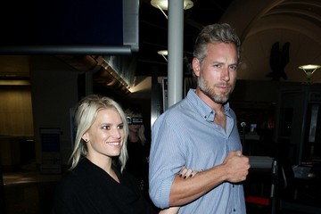 Eric Johnson Jessica Simpson Arrives at LAX