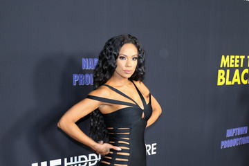 Erica Mena Premiere of Freestyle Releasing's 'Meet the Blacks'