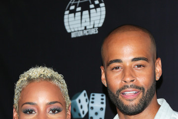 Erica Peeples Premiere of Imani Motion Pictures' 'True to the Game'