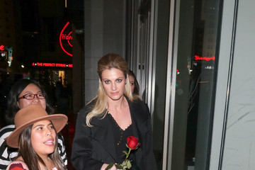 Erin Andrews Celebrity Sightings Outside the 'Beauty and The Beast' Premiere at El Capitan Theatre