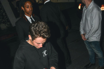 Ethan Cutkosky Ethan Cutkosky Outside Chateau Marmont In West Hollywood
