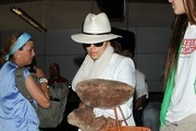 Eva Longoria seen at LAX.