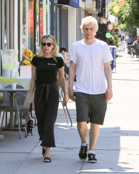 Emma Roberts And Evan Peters Step Out In LA