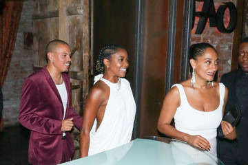 Evan Ross Tracee Ellis Ross Tracee Ellis Ross, Gabrielle Union And Evan Ross Outside Kevin Hart's Birthday Party at TAO in Hollywood