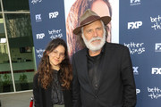 Nina Serbedzija and Rade Serbedzija are seen attending the FYC event for FX's 'Better Things' at Saban Media Center in Los Angeles, California.