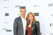 Eric Bana and Connie Britton are seen attending the FYC red carpet of Bravo's 'Dirty John' at Saban Media Center in Los Angeles, California.