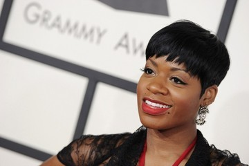 Fantasia Barrino Arrivals at the Grammy Awards