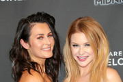 Scout Taylor Compton and Renee Olstead are seen attending 'Feral' Premiere at Arena Cinalounge in Los Angeles, California.