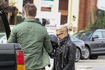 Fergie Fergie and Josh Duhamel Are Seen Out Together