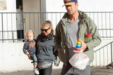 Fergie Josh Duhamel Out and About
