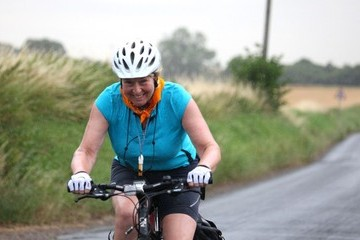 Fern Britton Fern Britton Goes for a Bike Ride