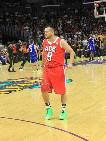 Ace Family Chris Brown Basketball Charity Event at Staples Center