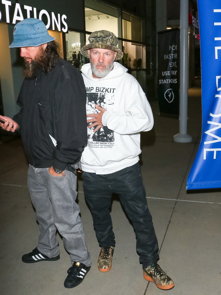 fred durst outside arclight theatre in