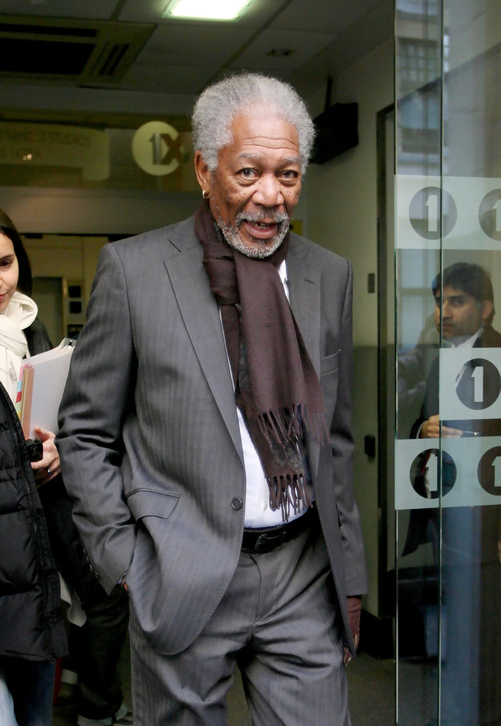 Morgan freeman in morgan freeman goes into radio one zimbio for What goes into 42