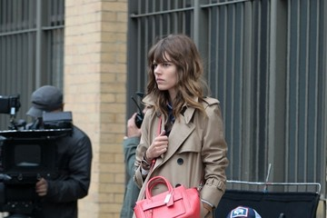 Freja Beha Erichsen Models Pose for Coach in NYC