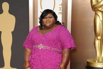 Gabourey Sidibe Arrivals at the 86th Annual Academy Awards