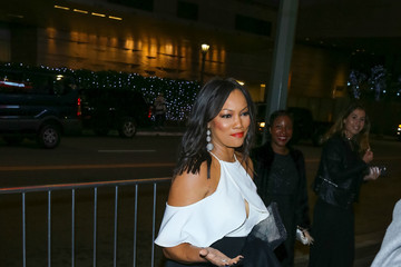 Garcelle Beauvais Celebrities Outside the 'Sleepless' Premiere