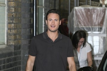 Gary Lucy Gary Lucy Arrives at the ITV Studios