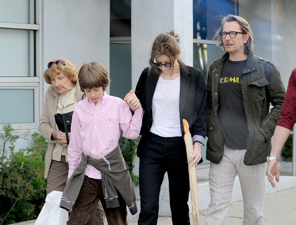 Photo of Gary Oldman & his  Son  Charlie John Oldman