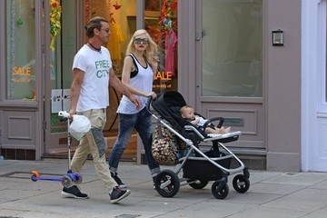Gavin Rossdale Gwen Stefani Spends the Day with Family