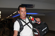 Gavin Rossdale Is Seen at LAX