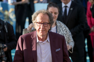 Geoffrey Rush Geoffrey Rush Arrives at the Premiere of 'Pirates of the Caribbean: Dead Men Tell No Tales'